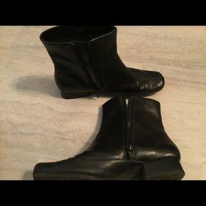 Aerosoles Black Blind Sight Boots/Booties